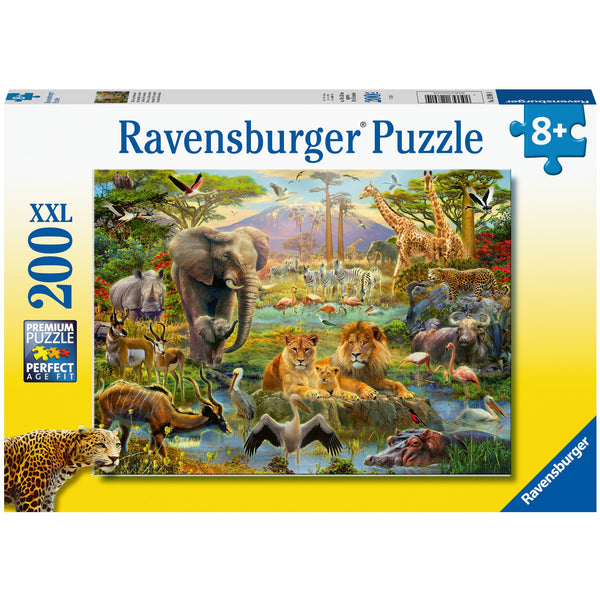 Ravensburger 200 XXL Piece Puzzle Animals of the Savannah 12891