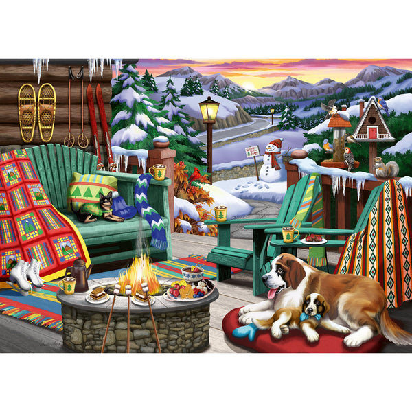 Ravensburger 500 Piece Puzzle Large Format Apres All Day