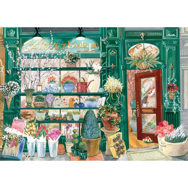 Ravensburger 300 Piece Puzzle Large Format Flower Shop 16785 canada ontario
