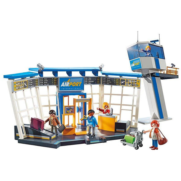 Playmobil City Action Airport with Control Tower
