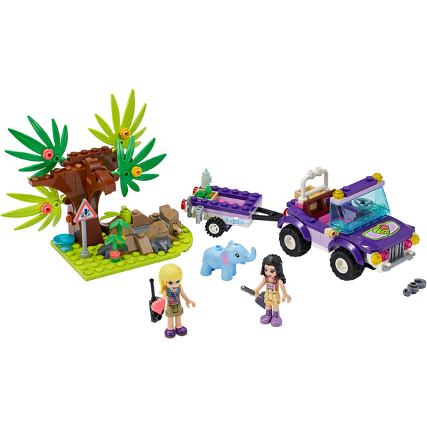 LEGO Friends Baby Elephant Jungle Rescue 41421 canada ontario stephanie emma