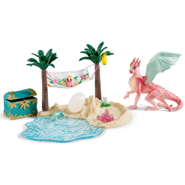 Schleich Bayala Dragon Island with Treasure 42436 canada ontario