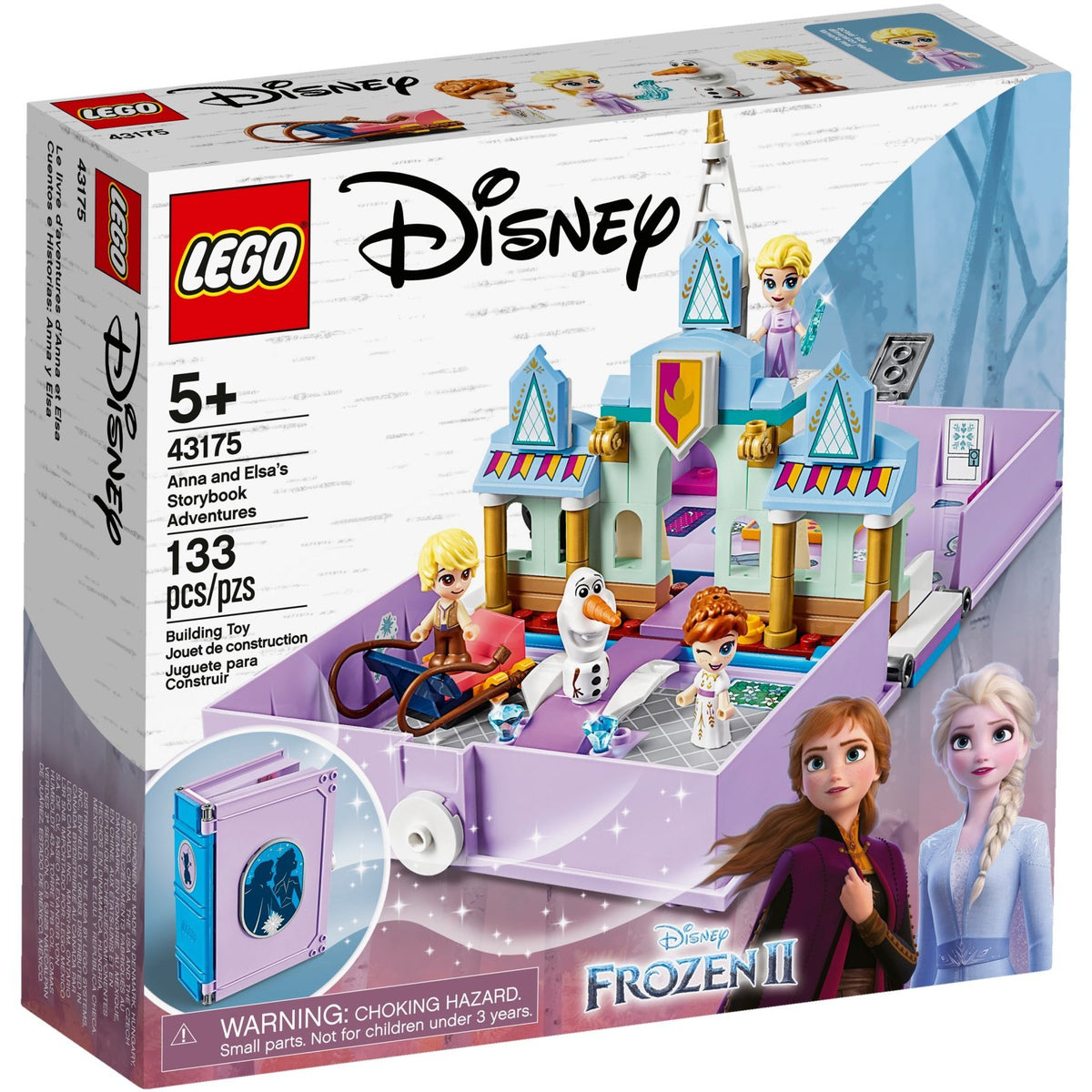 LEGO Disney Anna and Elsa's Storybook Adventure 43175 frozen canada ontario