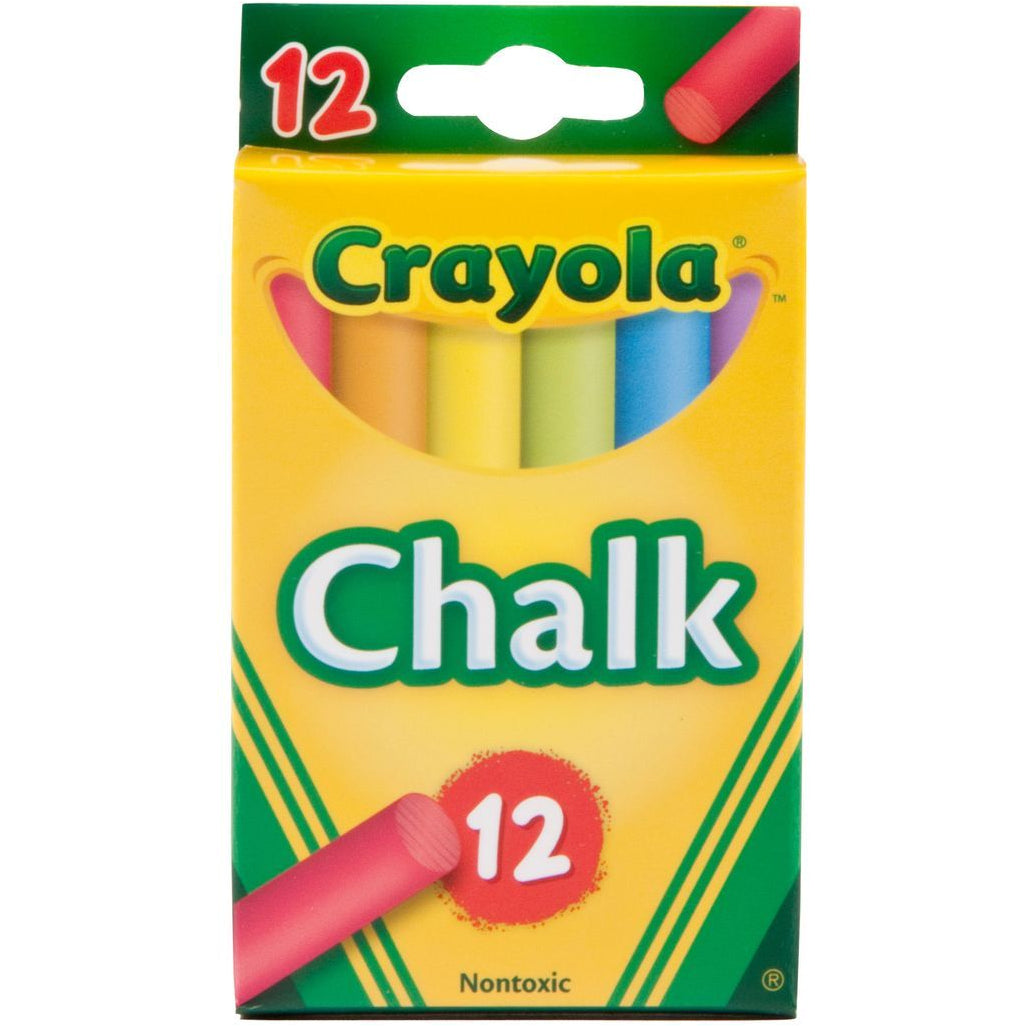Crayola Colour Chalk 12 Pack