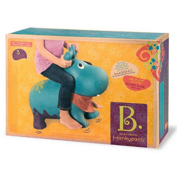 B Toys Bouncy Boing Hankypants Hippo