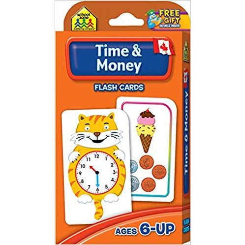 Canadian Money and Time Flash Cards