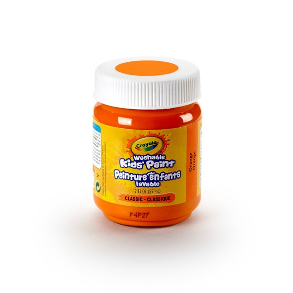 Crayola Washable Paint 2oz Orange canada