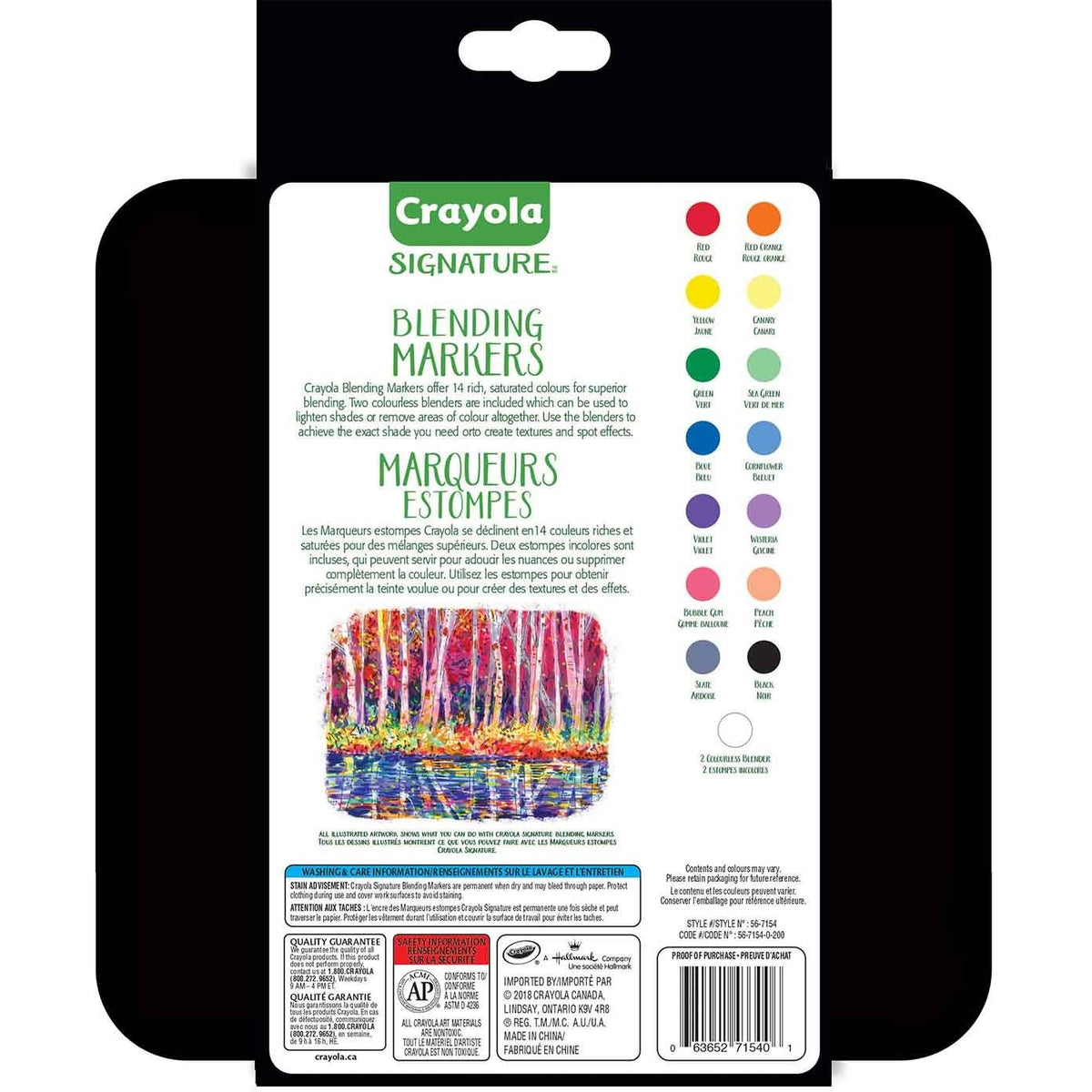 Crayola Signature Blending Markers in a Tin