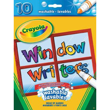 Crayola Window Writers Markers 10 Pack