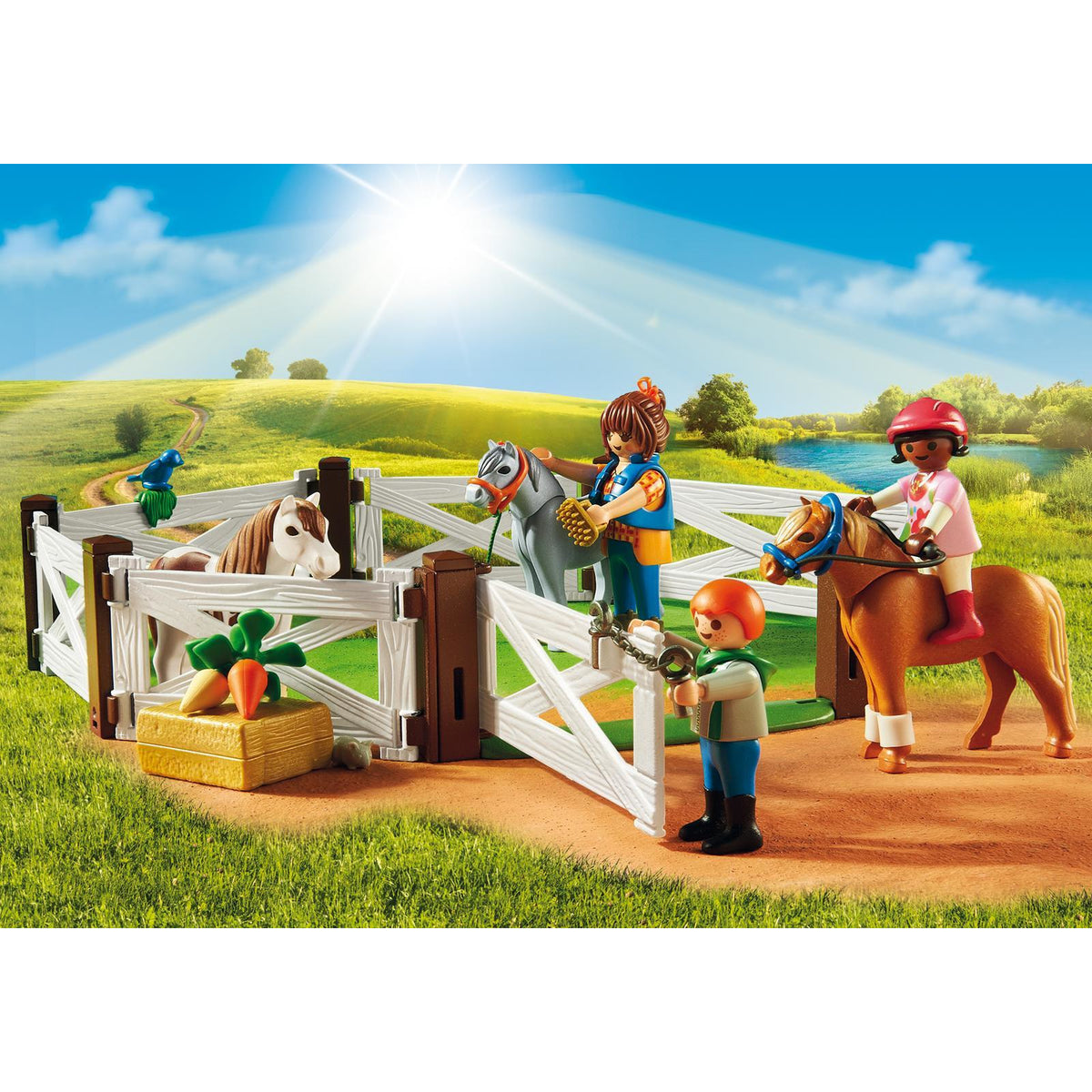 Playmobil Country Pony Farm