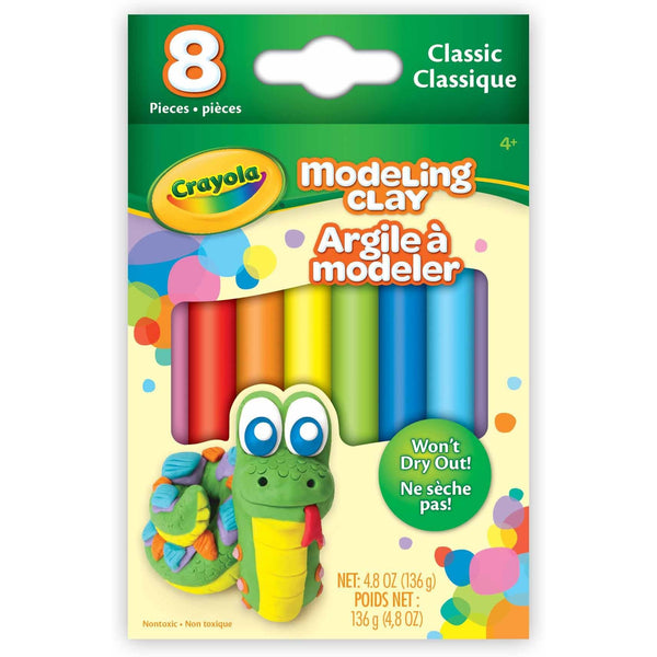 Crayola Modeling Clay 8 Pack