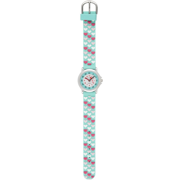 Solo Time Children's Quartz Watch Aqua Love canada ontario