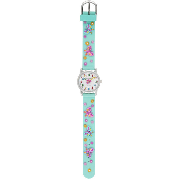 Solo Time Children's Watch Bright Butterfly canada ontario analog quartz