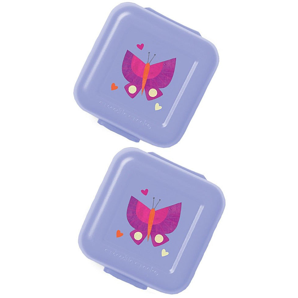 Crocodile Creek Snack Keeper 2 Pack Butterfly Dreams canada ontario