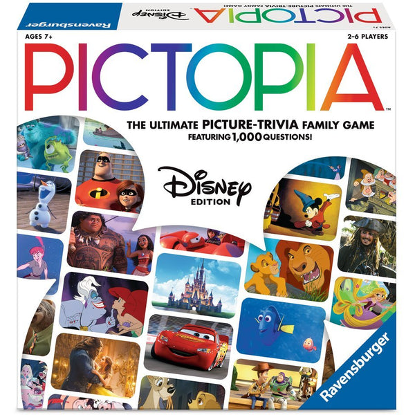 Pictopia Disney Edition wonderforge wonder forge canada board game ravensburger