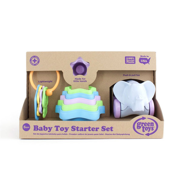Green Toys Baby Toy Starter Set canada ontario pull toy keys stacking cups