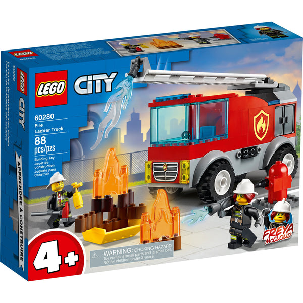 LEGO City Fire Ladder Truck 60280 canada ontario