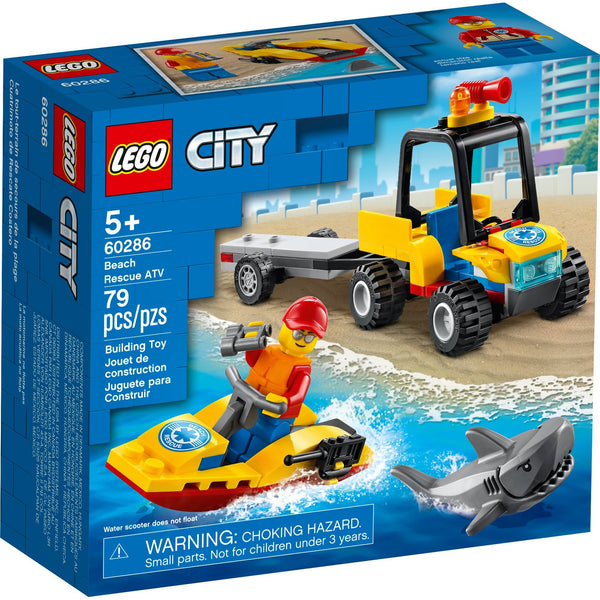 LEGO City Beach Rescue ATV 60286 canada ontario shark