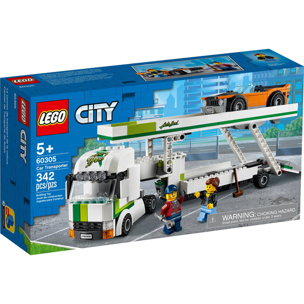 LEGO City Car Transporter