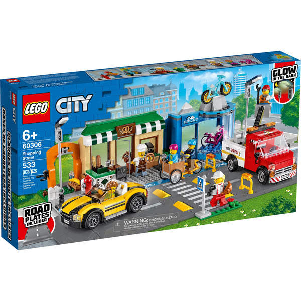 LEGO City Shopping Street 60306 canada ontario