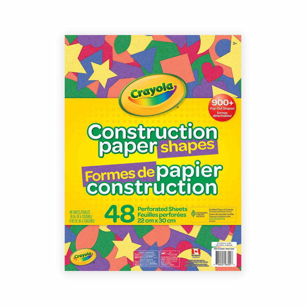 Crayola Construction Paper Shapes