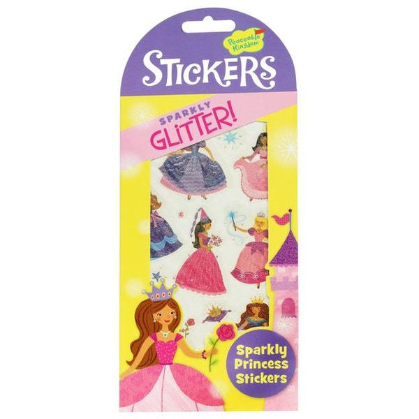 Peaceable Kingdom Glitter Princess Stickers 124 stk124