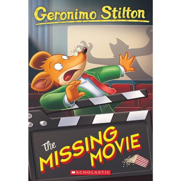 Geronimo Stilton #73 The Missing Movie mouse detective canada ontario children's novel