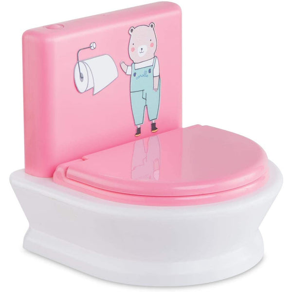 "Corolle Interactive Toilet for 12"" & 14"" Dolls 140480 canada ontario"