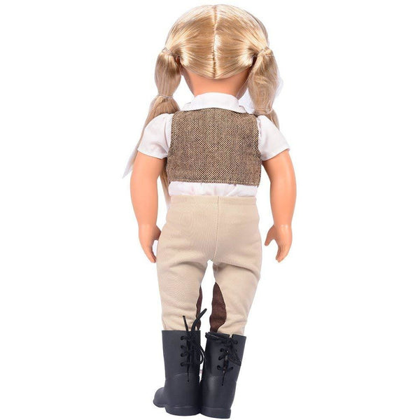 "Our Generation 18"" Leah Riding Doll"