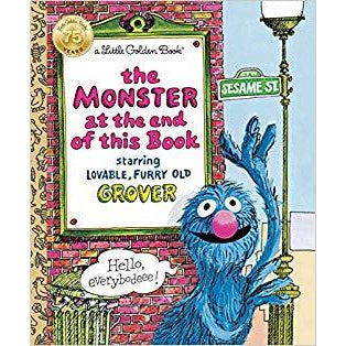 Little Golden Book Monster at the End of this Book