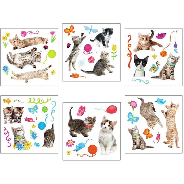 Peaceable Kingdom Kitty Window Reusable Stickers canada ontario
