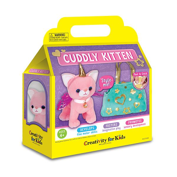 Creativity for Kids Cuddly Kitten canada ontario toronto montreal kingston belleville kitchener waterloo london hamilton ottawa