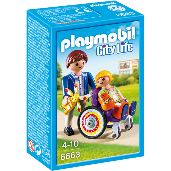 Playmobil City Life Child in Wheelchair