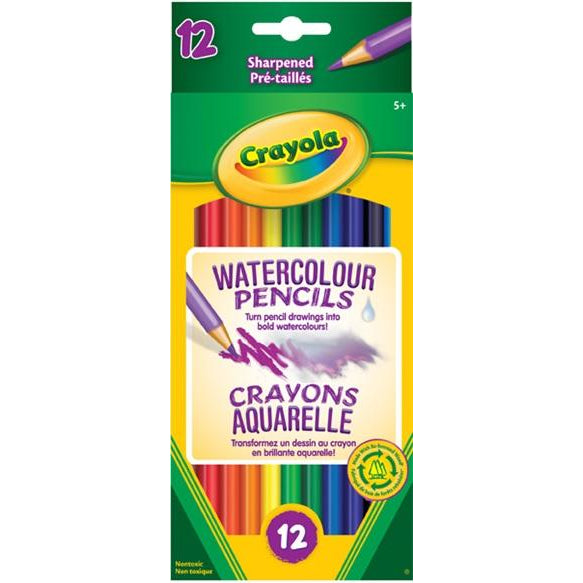 Crayola Watercolour Pencils 12 Pack