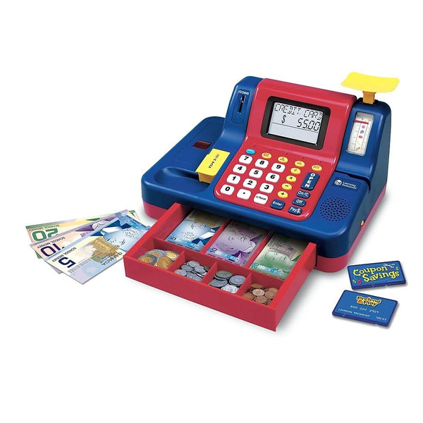 Learning Resources Pretend and Play Calculator Cash Register