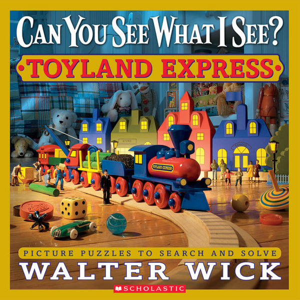 Can You See What I See? Toyland Express ISBN 9780545244831 walter wick canada ontario picture puzzle