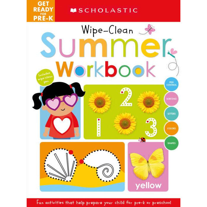 Scholastic Get Ready For Pre-K Summer Workbook
