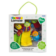 Lamaze Foot Finder Wrist Rattle Set garden bug gardenbug newborn baby toy canada