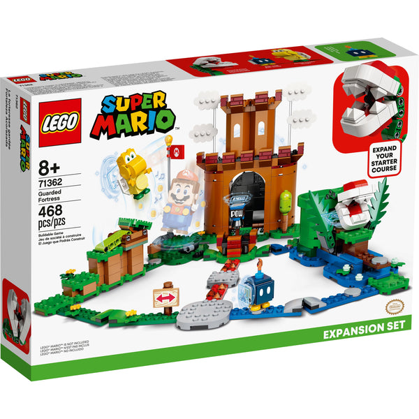LEGO Super Mario Guarded Fortress Expansion Set 71362 canada ontario pirahna