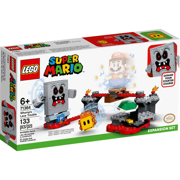LEGO Super Mario Whomp's Lava Trouble Expansion 71364 canada ontario