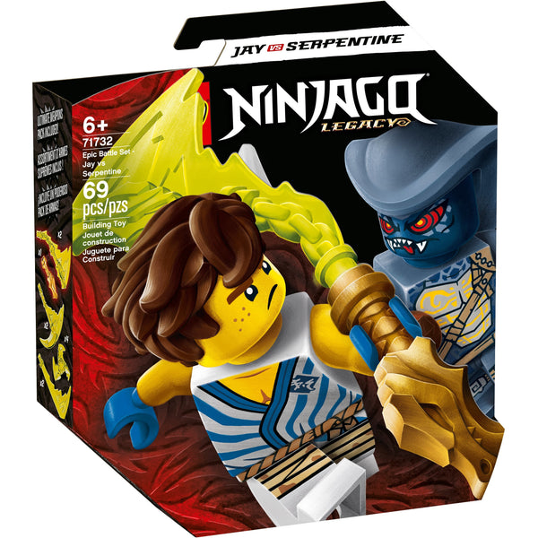 LEGO Ninjago Epic Battle Set - Jay Vs. Serpentine 71732 canada ontario