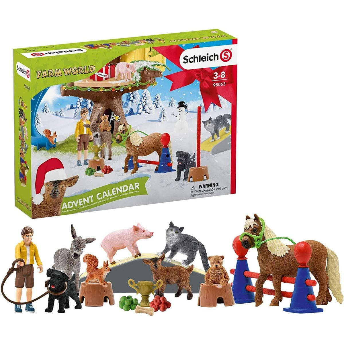 Schleich Advent Calendar Farm World 2020 98063 canada ontario