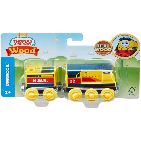 Thomas & Friends Wooden Rebecca Train canada ontario yellow