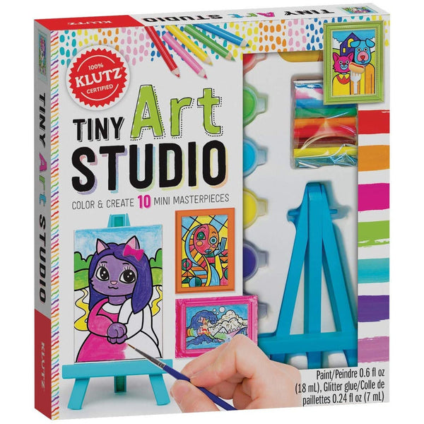 Klutz Tiny Art Studio ISBN 9781338643893 canada ontario