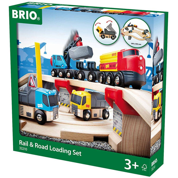 BRIO Rail & Road Stone Quarry Set