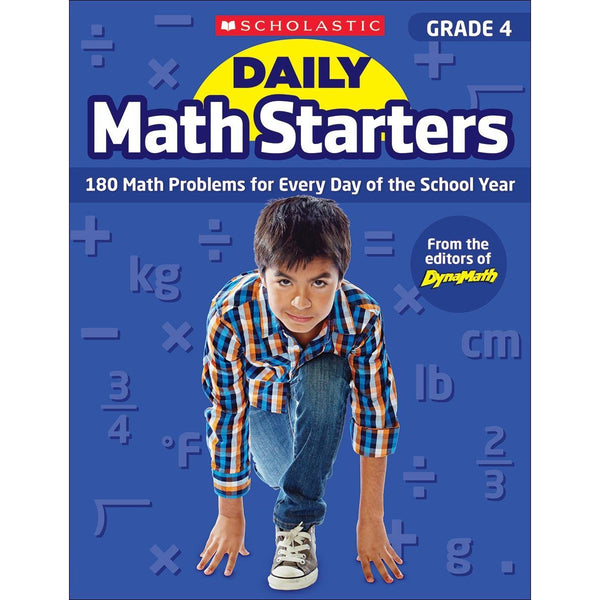 Scholastic Daily Math Starters Grade 4 canada ontario workbook