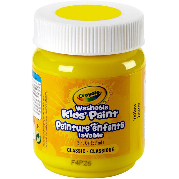 Crayola Washable Yellow Paint 2oz canada ontario