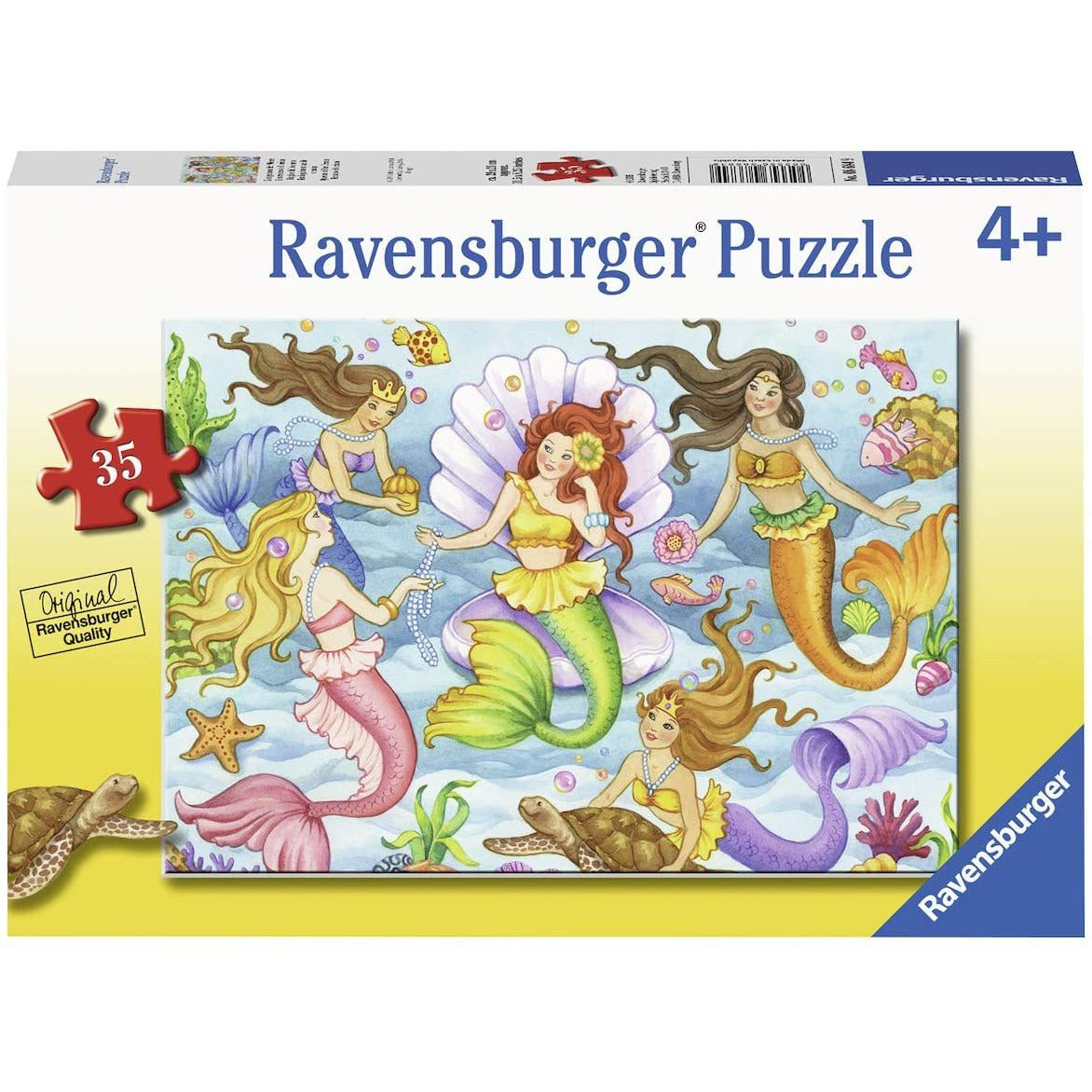 Ravensburger 35 Piece Puzzle Queens of the Ocean mermaids 08684 canada ontario