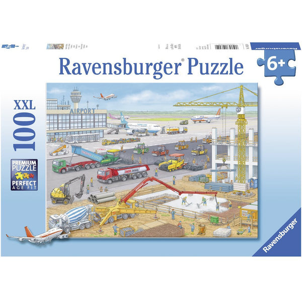 Ravensburger 100 Piece Puzzle Construction at the Airport 10624 canada ontario planes