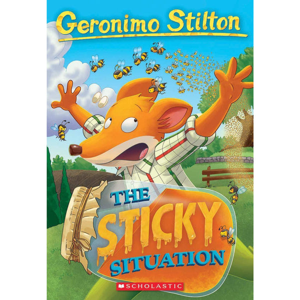 Geronimo Stilton #75 The Sticky Situation canada ontario children's novel beginner mouse detective